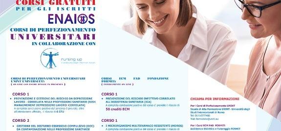 Coronavirus, Nursing Up: Ora più che mai a fianco degli infermieri con corsi di formazione a distanza su Risk Management e sulla gestione di disturbi legati al rischio da contaminazione
