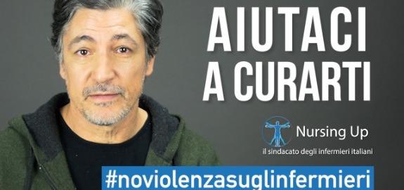 L'attore Francesco Foti contro le aggressioni agli operatori sanitari, diventa virale la campagna social #NoViolenzasuglinfermieri