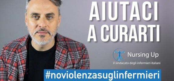 Sanità, infermieri Nursing Up: l'attore regista Massimiliano Vado contro le aggressioni agli operatori sanitari, online da oggi un altro video per dire no alla violenza
