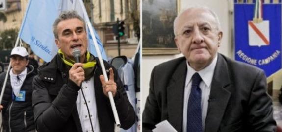 Napoli, Nursing Up al governatore De Luca: Non usi gli infermieri per mascherare le inadempienze gestionali e distrarre l'opinione pubblica dalla sanità campana