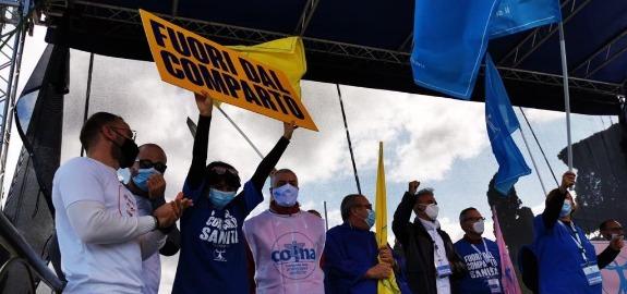 De Palma: «Il 15 ottobre passerà alla storia. Migliaia di infermieri da tutta Italia uniti per un solo obiettivo»