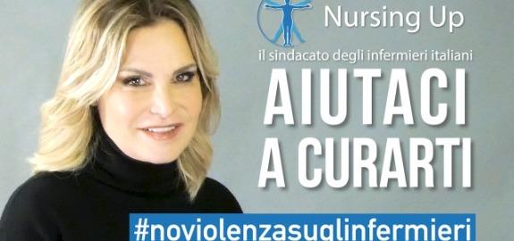 SimonaVenturaambasciatrice per la campagna Nursing Up contro la violenza sugli infermieri: online un video per dire di no al fenomeno delle aggressioni in pericoloso aumento