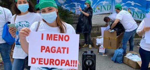 INFERMIERI NURSING UP: MOBILITAZIONE A MILANO I PRIMI DI LUGLIO. IN STRADA TUTTI I COLLEGHI PROTAGONISTI DELLA LOTTA AL COVID-19