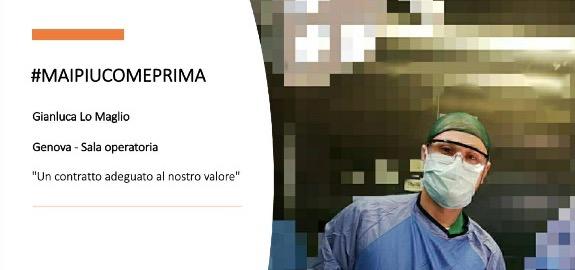 #MAIPIUCOMEPRIMA, continua la nostra campagna. Gianluca Lo Maglio, Genova