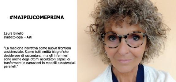 #MAIPIUCOMEPRIMA, Nursing Up Laura Binello di Asti