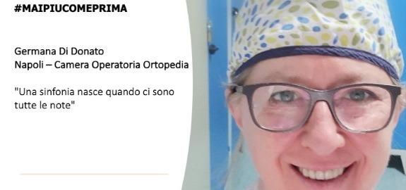 #MAIPIUCOMEPRIMA Germana Di Donato