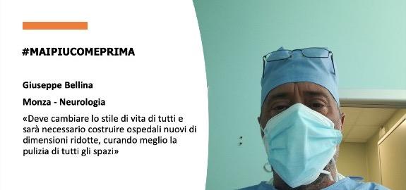 #MAIPIUCOMEPRIMA, Giuseppe Bellina di Monza