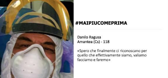#MAIPIUCOMEPRIMA, Danilo Ragusa di Amantea