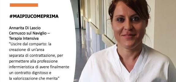 #MAIPIUCOMEPRIMA Annarita Di Lascio, Cernusco sul Naviglio