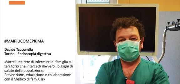 #MAIPIUCOMEPRIMA Davide Tacconella di Torino