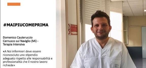 #MAIPIUCOMEPRIMA Domenico Cauteruccio, Cernusco sul Naviglio (Mi) - Terapia Intensiva