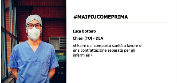 #MAIPIUCOMEPRIMA Nursing Up, Luca Bottero di Chieri