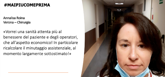 #MAIPIUCOMEPRIMA Annalisa Roina di Verona