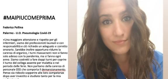 #MAIPIUCOMEPRIMA, il racconto di Federica Pollina