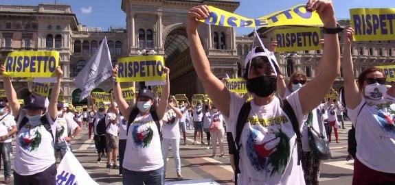 La lotta degli infermieri italiani raggiunge le grandi agenzie stampa internazionali. Euronews cita il Sindacato  Nursing Up, la sua manifestazione al Circo Massimo e lo sciopero del prossimo 2 Novembre