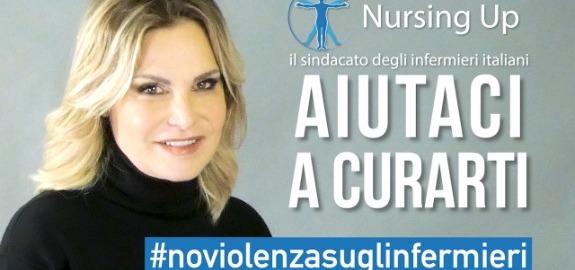 Simona Ventura ambasciatrice per la campagna Nursing Up contro la violenza sugli infermieri: online un video per dire di no al fenomeno delle aggressioni in pericoloso aumento