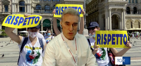 Il nostro Presidente Antonio De Palma ospite di Rai Molise interviene sul recente blitz degli Ispettori del Ministero al Cardarelli di Campobasso