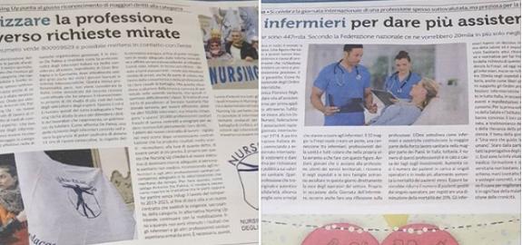 Intervento su Repubblica del presidente Nursing Up Antonio De Palma per la Giornata mondiale dell'infermiere